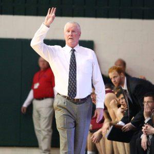 Lafayette men's basketball coach Fran O'Hanlon