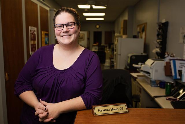 Development Technology Specialist Heather Hahn '03